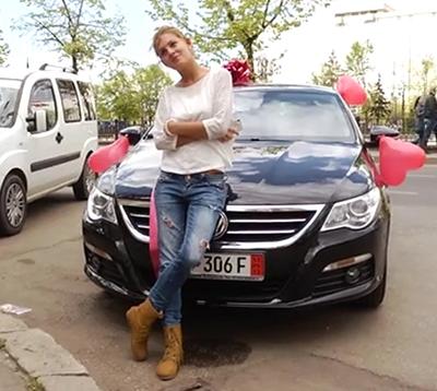 Ingrid si-a luat masina!